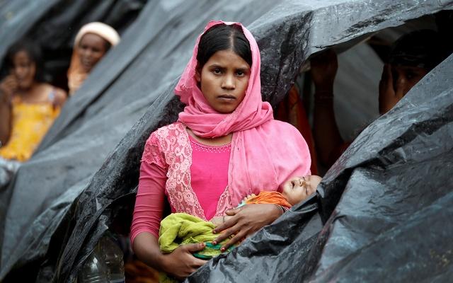 RohingyaWomanSept2017